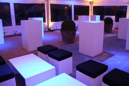 mobilier design soirée privée