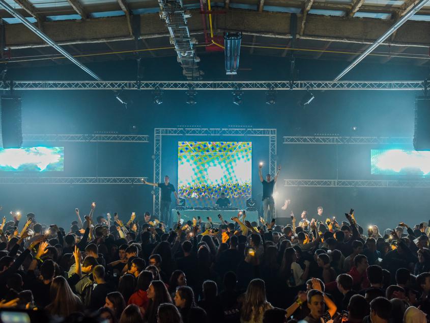 soirée de l'ara 2020 inside club