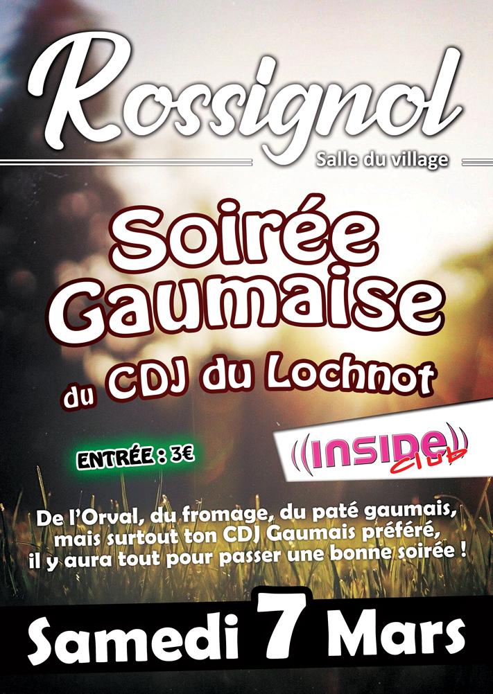 soirée gaumaise rossignol 2020 inside club