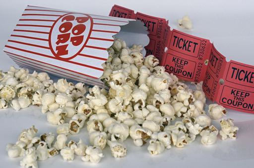 machine à pop-corn nourriture cinéma événements