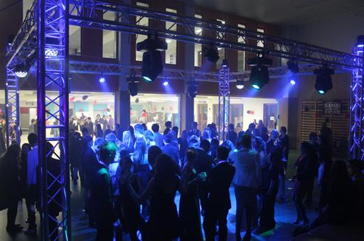 soirée publique bal école INDA rhétosArlon