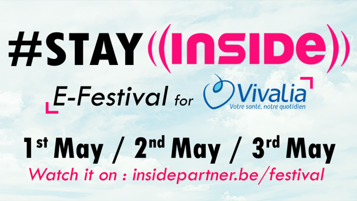 #STAY INSIDE E-Festival for Vivalia